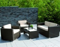 Rattan Lounge Möbel für den Garten