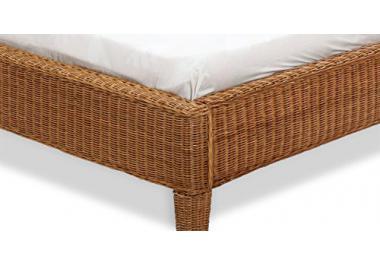 rattanbett g nstige rattanbetten bei livingo kaufen. Black Bedroom Furniture Sets. Home Design Ideas